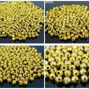 100Pcs-22K-Gold-Vacuum-Plated-Over-Copper-Faceted-Round-Beads-4mm-5mm-6mm-8mm-281042607795