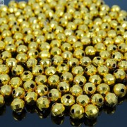 100Pcs-22K-Gold-Vacuum-Plated-Over-Copper-Faceted-Round-Beads-4mm-5mm-6mm-8mm-281042607795-44dc