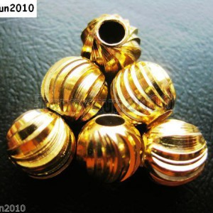 100Pcs-22K-Gold-Vacuum-Plated-Solid-Metal-Round-Spacer-Beads-3mm-4mm-5mm-6mm-261131683200
