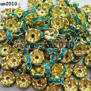 100Pcs-Czech-Crystal-Rhinestone-Wavy-Rondelle-Spacer-Beads-4mm-5mm-6mm-8mm-10mm-251089093224-8049