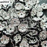100Pcs-Czech-Crystal-Rhinestone-Wavy-Rondelle-Spacer-Beads-4mm-5mm-6mm-8mm-10mm-251089093224-99fb