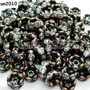 100Pcs-Czech-Crystal-Rhinestone-Wavy-Rondelle-Spacer-Beads-4mm-5mm-6mm-8mm-10mm-251089093224-a5c2