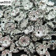 100Pcs-Czech-Crystal-Rhinestone-Wavy-Rondelle-Spacer-Beads-4mm-5mm-6mm-8mm-10mm-251089093224-b435