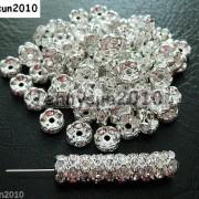 100Pcs-Czech-Crystal-Rhinestone-Wavy-Rondelle-Spacer-Beads-4mm-5mm-6mm-8mm-10mm-251089093224-bf5b