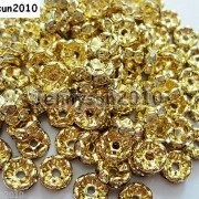 100Pcs-Czech-Crystal-Rhinestone-Wavy-Rondelle-Spacer-Beads-4mm-5mm-6mm-8mm-10mm-251089093224-f19a