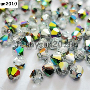 100Pcs-Top-Quality-Czech-Crystal-Bicone-Beads-Exclusive-3mm-4mm-Crystal-Vitrail-251100421298