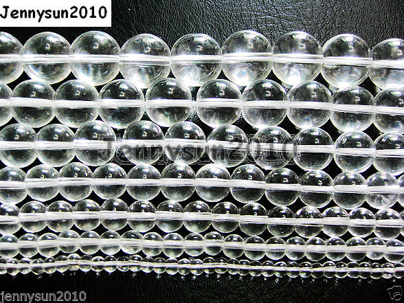 100pcs-Clear-Glass-Crystal-Quartz-Gemstones-Smooth-Round-Ball-Spacer-Beads-Pick-261034149560