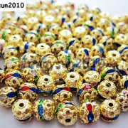 100pcs-Czech-Crystal-Rhinestones-Pave-Diamante-Round-Spacer-Beads-6mm-8mm-10mm-251087497248-55f8