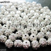 100pcs-Czech-Crystal-Rhinestones-Pave-Diamante-Round-Spacer-Beads-6mm-8mm-10mm-251087497248-8e68