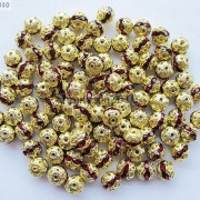 100pcs-Czech-Crystal-Rhinestones-Pave-Diamante-Round-Spacer-Beads-6mm-8mm-10mm-251087497248-aeee