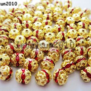 100pcs-Czech-Crystal-Rhinestones-Pave-Diamante-Round-Spacer-Beads-6mm-8mm-10mm-251087497248-f9f4