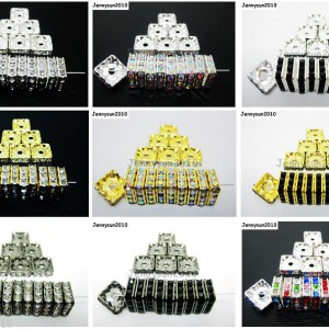100pcs-Czech-Crystal-Rhinestones-Squaredelle-Spacer-Beads-5mm-6mm-8mm-10mm-Pick-251083654353