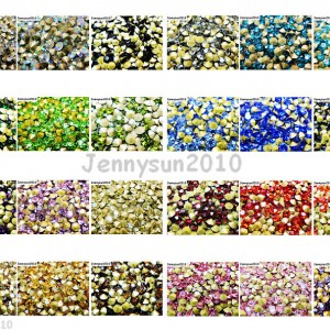10Gross1440Pcs-Top-Quality-Czech-Crystal-Round-Rhinestones-Pointed-Foiled-Back-370768913683