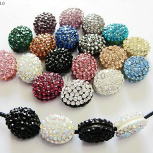 10Pcs-Crystal-Glass-Rhinestones-Pave-Oval-Bracelet-Connector-Charm-Beads-12x14mm-261302136914