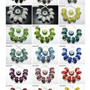 20Pcs-Crystal-Rhinestones-Bling-Spacer-Beads-Fit-European-Charm-9x14mm-Pick-260927854073