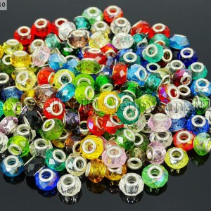 50Pcs-Mixed-Color-Crystal-Big-Hole-Charm-Beads-Fit-European-Bracelet-or-Necklace-281122476228