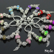 Big-Hole-Crystal-Charm-Beads-Fit-European-Charms-Bracelet-Jewerly-Chain-Silver-282113699406-11