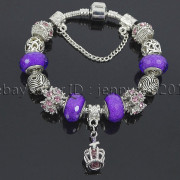 Big-Hole-Crystal-Charm-Beads-Fit-European-Charms-Bracelet-Jewerly-Chain-Silver-282113699406-1577