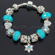 Big-Hole-Crystal-Charm-Beads-Fit-European-Charms-Bracelet-Jewerly-Chain-Silver-282113699406-4636