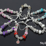Big-Hole-Crystal-Charm-Beads-Fit-European-Charms-Bracelet-Jewerly-Chain-Silver-282113699406-5