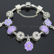 Big-Hole-Crystal-Charm-Beads-Fit-European-Charms-Bracelet-Jewerly-Chain-Silver-282113699406-54df