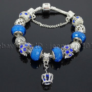 Big-Hole-Crystal-Charm-Beads-Fit-European-Charms-Bracelet-Jewerly-Chain-Silver-282113699406-5b0f