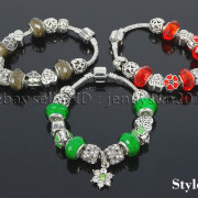 Big-Hole-Crystal-Charm-Beads-Fit-European-Charms-Bracelet-Jewerly-Chain-Silver-282113699406-6