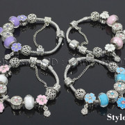 Big-Hole-Crystal-Charm-Beads-Fit-European-Charms-Bracelet-Jewerly-Chain-Silver-282113699406-8