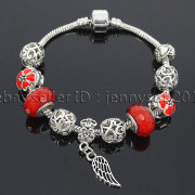 Big-Hole-Crystal-Charm-Beads-Fit-European-Charms-Bracelet-Jewerly-Chain-Silver-282113699406-a883