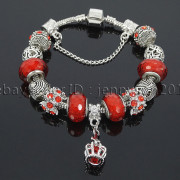 Big-Hole-Crystal-Charm-Beads-Fit-European-Charms-Bracelet-Jewerly-Chain-Silver-282113699406-a9b7