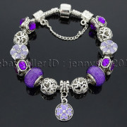 Big-Hole-Crystal-Charm-Beads-Fit-European-Charms-Bracelet-Jewerly-Chain-Silver-282113699406-b8fe