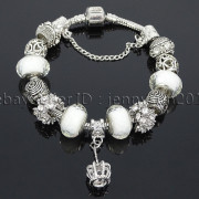 Big-Hole-Crystal-Charm-Beads-Fit-European-Charms-Bracelet-Jewerly-Chain-Silver-282113699406-e2a9