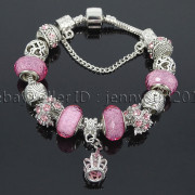 Big-Hole-Crystal-Charm-Beads-Fit-European-Charms-Bracelet-Jewerly-Chain-Silver-282113699406-e561