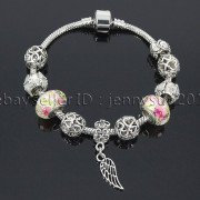 Big-Hole-Crystal-Charm-Beads-Fit-European-Charms-Bracelet-Jewerly-Chain-Silver-282113699406-e710