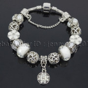 Big-Hole-Crystal-Charm-Beads-Fit-European-Charms-Bracelet-Jewerly-Chain-Silver-282113699406-f1da