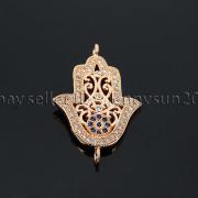 Clear-Zircon-Gemstones-Pave-Lucky-Eye-Hamsa-Hand-Bracelet-Connector-Charm-Beads-371825851684-2897