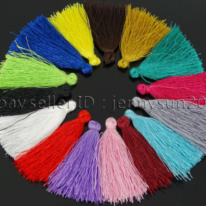 Colorful-Cotton-Silky-Silk-Handmade-Trim-Tassel-40mm-For-Jewelry-Crafts-Design-262639400087