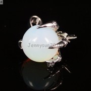 Crystal-Rhinestone-Dragon-Claw-Gemstone-Round-Reiki-Chakra-Healing-Pendant-Bead-281425678023-5