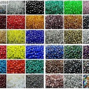 Czech-Crystal-4mm-Faceted-Round-Loose-Beads-For-Bracelet-Necklace-Jewelry-Making-370925366312