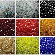 Czech-Crystal-4mm-Faceted-Round-Loose-Beads-For-Bracelet-Necklace-Jewelry-Making-370925366312-2