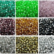 Czech-Crystal-4mm-Faceted-Round-Loose-Beads-For-Bracelet-Necklace-Jewelry-Making-370925366312-3