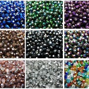 Czech-Crystal-4mm-Faceted-Round-Loose-Beads-For-Bracelet-Necklace-Jewelry-Making-370925366312-4
