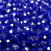 Czech-Crystal-4mm-Faceted-Round-Loose-Beads-For-Bracelet-Necklace-Jewelry-Making-370925366312-ebf0