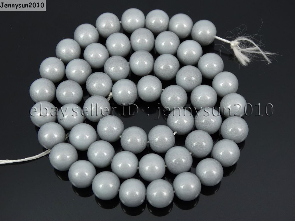 16mm To Inches >> Czech Opaque Coated Glass Pearl Round Beads 16'' 4mm 6mm 8mm 10mm 12mm 14mm 16mm - jennysun2010