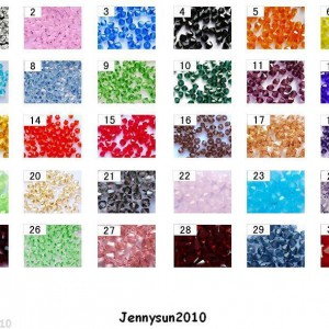 Freeshipping-100Pcs-Top-Quality-Czech-Crystal-Faceted-Bicone-Beads-3mm-Pick-250910526851