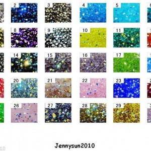 Freeshipping-100Pcs-Top-Quality-Czech-Crystal-Faceted-Bicone-Beads-4mm-AB-Colors-260872744619