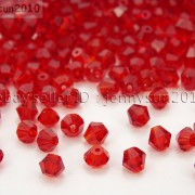 Freeshipping-100Pcs-Top-Quality-Czech-Crystal-Faceted-Bicone-Beads-5mm-Pick-260874775465-0103