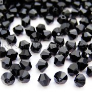 Freeshipping-100Pcs-Top-Quality-Czech-Crystal-Faceted-Bicone-Beads-5mm-Pick-260874775465-a48a