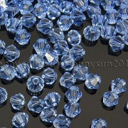 Freeshipping-100Pcs-Top-Quality-Czech-Crystal-Faceted-Bicone-Beads-5mm-Pick-260874775465-a9ac