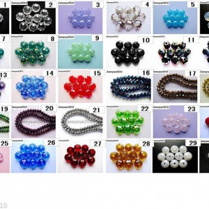 Freeshipping-100Pcs-Top-Quality-Czech-Crystal-Faceted-Rondelle-Beads-6x-8mm-Pick-250920514846